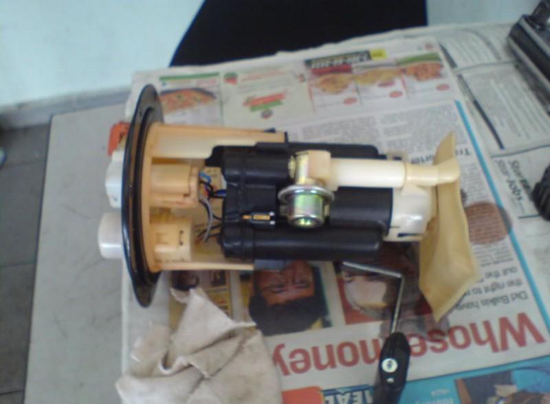 Фото модуля в разобраном состоянии