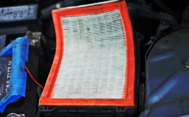 Фото загрязненной детали перед ее удалением