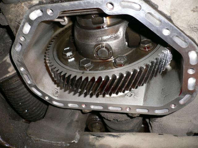 Фото открытой КПП Opel Vectra