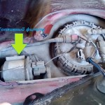 Фотография расположения топливного фильтра