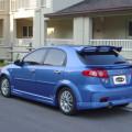 Chevrolet Lachetti голубого цвета
