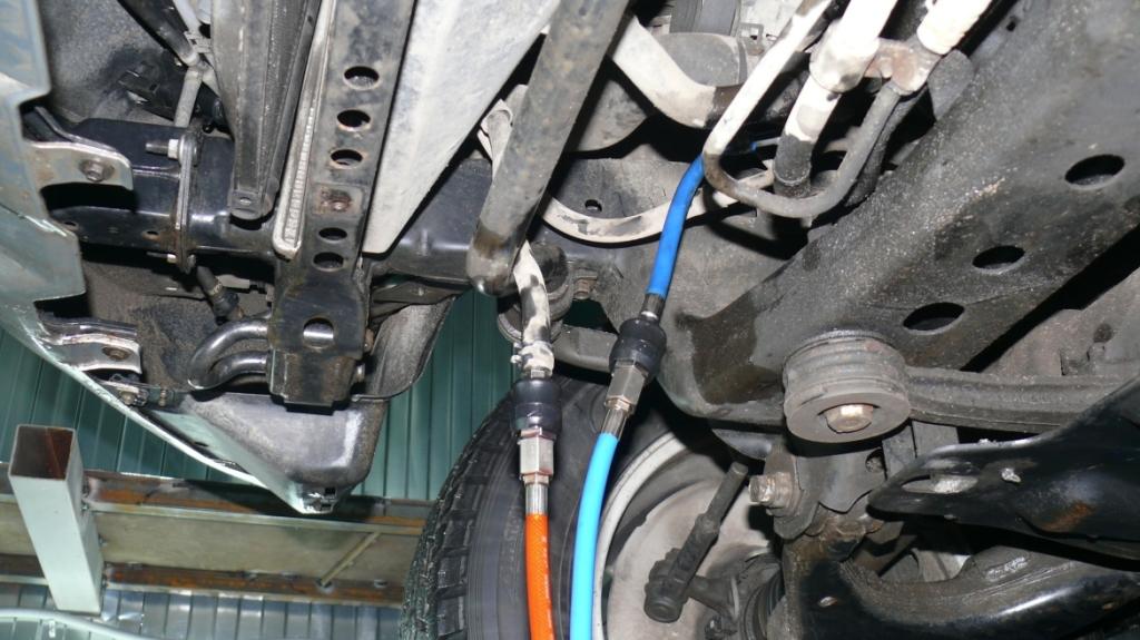 Фото подключения аппарата к системе охлаждения