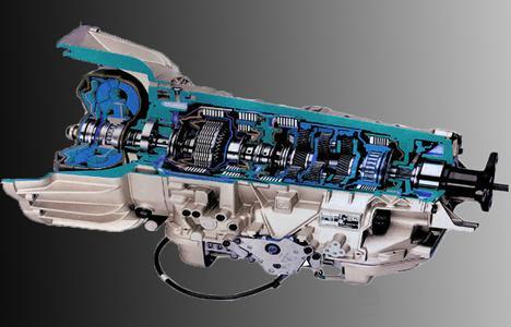 Фото автоматической коробки передач в разрезе