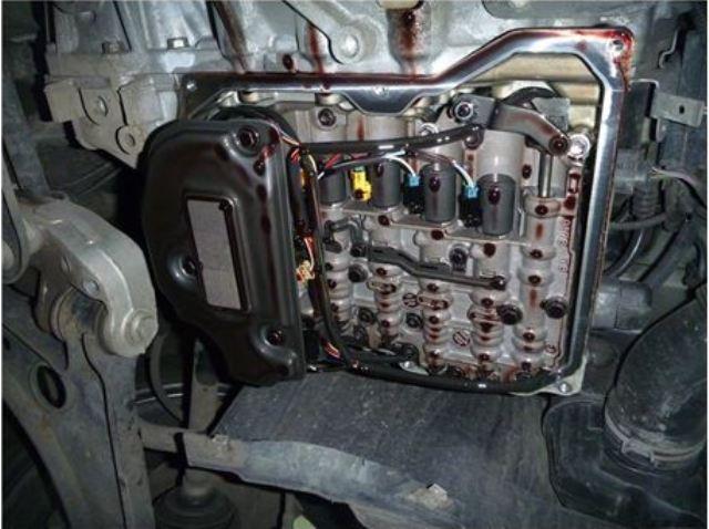Фото КПП VW с новым фильтром