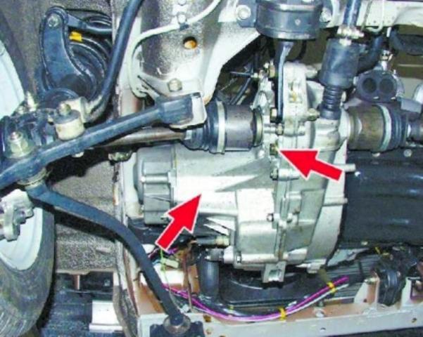 Фото сливной пробки коробки передач