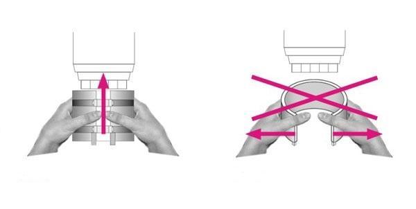 Схема установки обогревателя