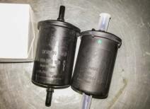 Проводим замену топливного фильтра Рено Логан