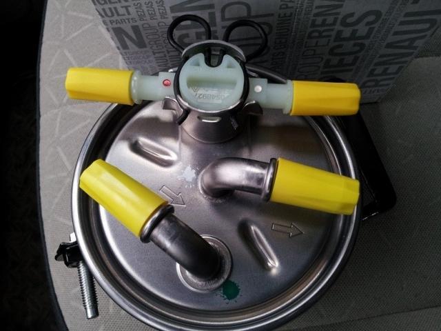 Топливный фильтр Автомобиль Рено Сценик 2