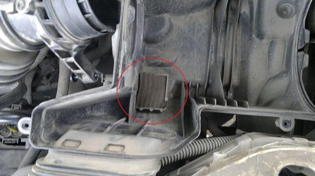 Фильтр картерных газов на FF2 рестайлинг