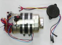 Устанавливаем бандажный подогреватель на топливный фильтр