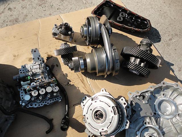 CVT Nissan X-Trail в деталях