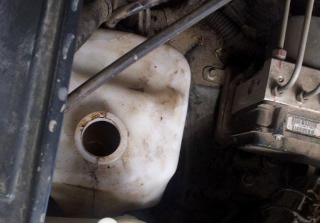 Бачок для охладительной жидкости автомобиля Ховер