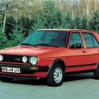 Красный Гольф 2 1984 года