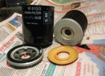 Устанавливаем масляный фильтр Mann (w914/2, w67/1, w610/3)