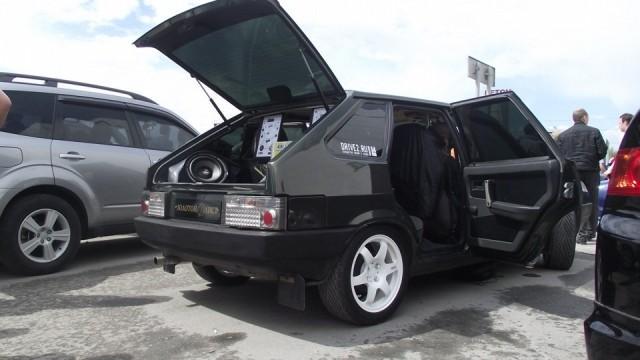 Тюнингованный ВАЗ 2109