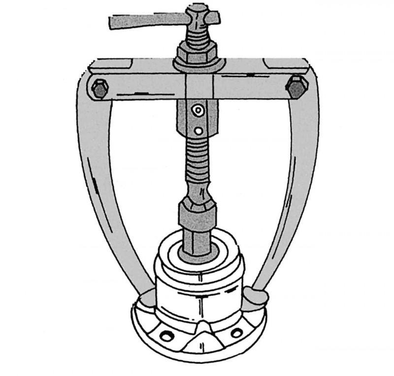 Схема подшипника ступицы