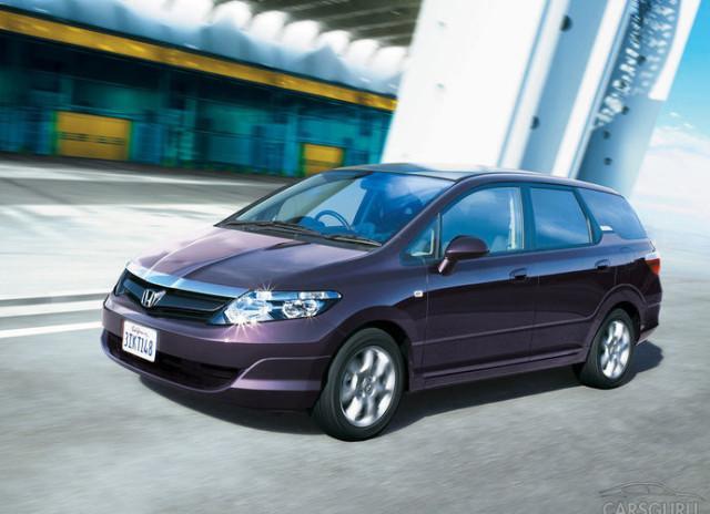 Фиолетовая Honda Airwave