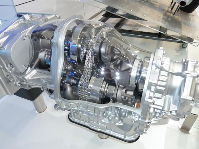 Вариаторная КПП для Honda Airwave в разрезе