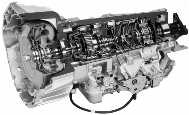 Автоматическая коробка передач автомобиля Audi A6