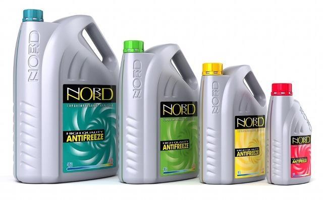 Охлаждающая жидкость марки Норд