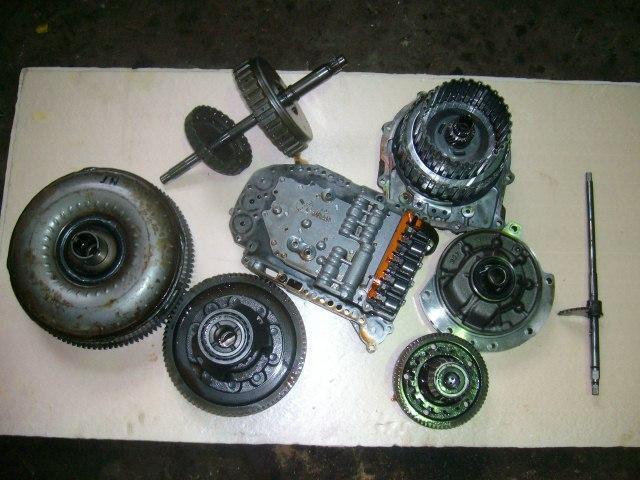 Гидротрансформатор коробки «автомат» в разборе