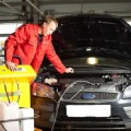 Промывка системы охлаждения двигателя фото