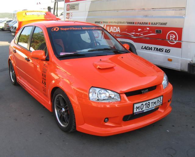 Автомобиль ВАЗ Калина