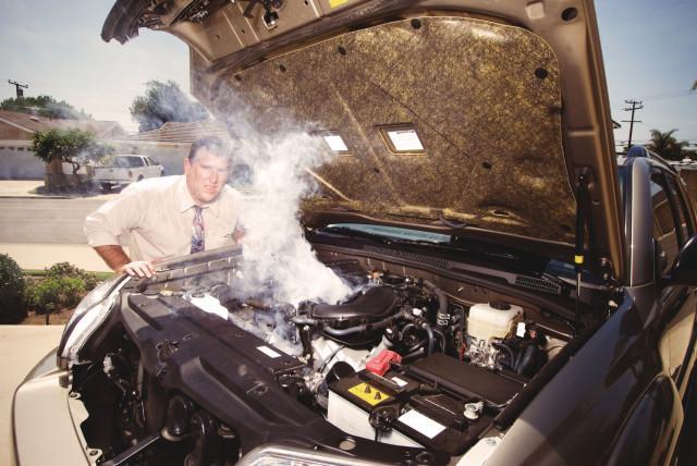 Кипение двигателя машины
