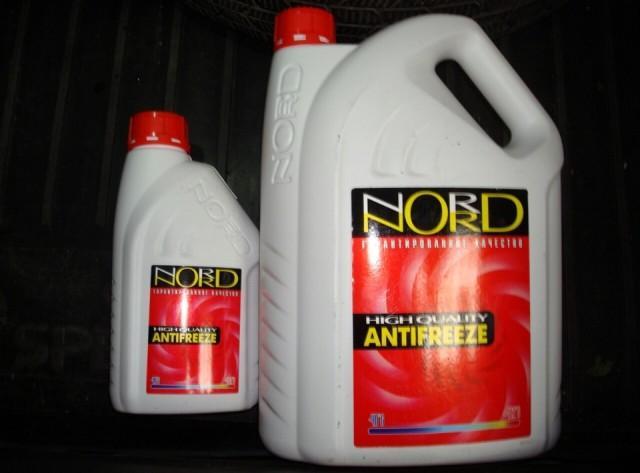 Красная охлаждающая жидкость «Норд»