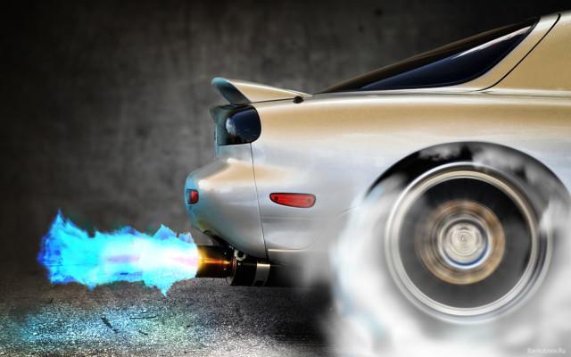 Пробуксовка задних колес