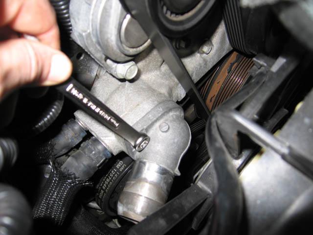 Установленный в автомобиле термостат