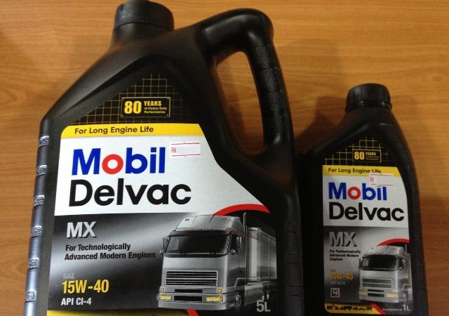 Смазывающая моторная смесь Delvac 15W-40