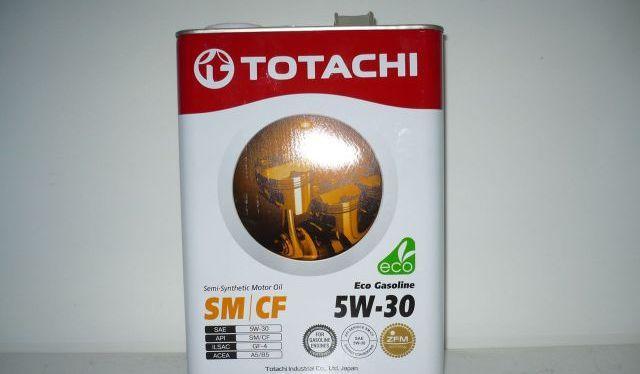 Канистра масла Тотачи 5w30