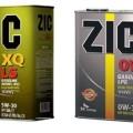 Ассортимент масел ZIC 5w30