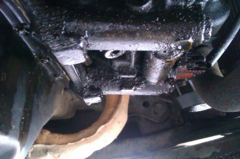 Нагар на машинном двигателе