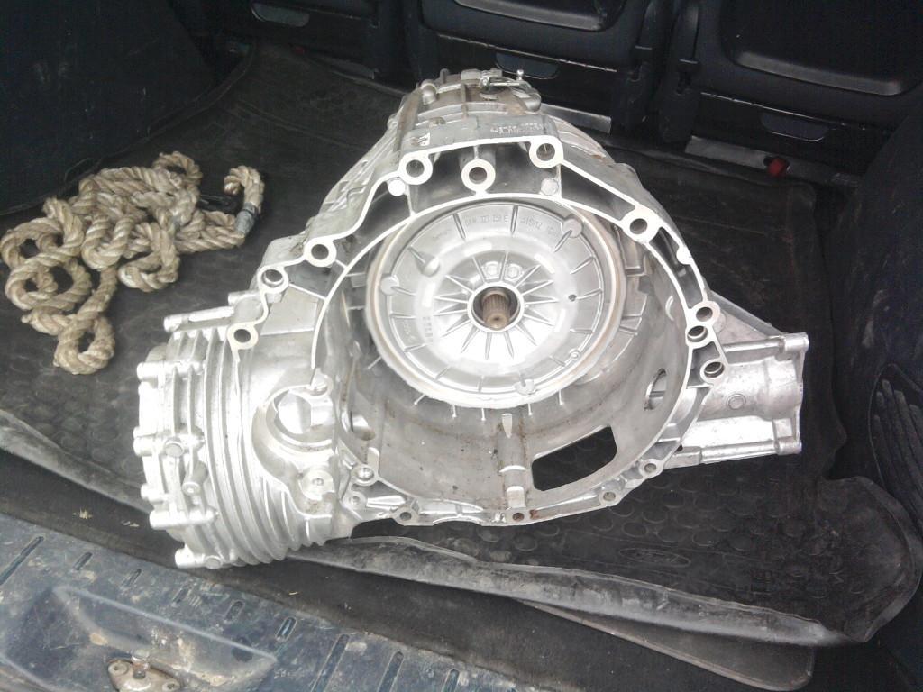 CVT автомобиля Ауди А4 в разрезе