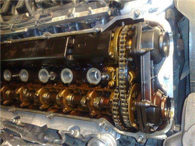 Двигатель от BMW после пробега в 89 000 км с использованием масла Castrol 5w30, предназначенного специально для BMW