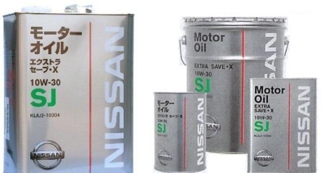 Марка бензинового масла от компании Ниссан