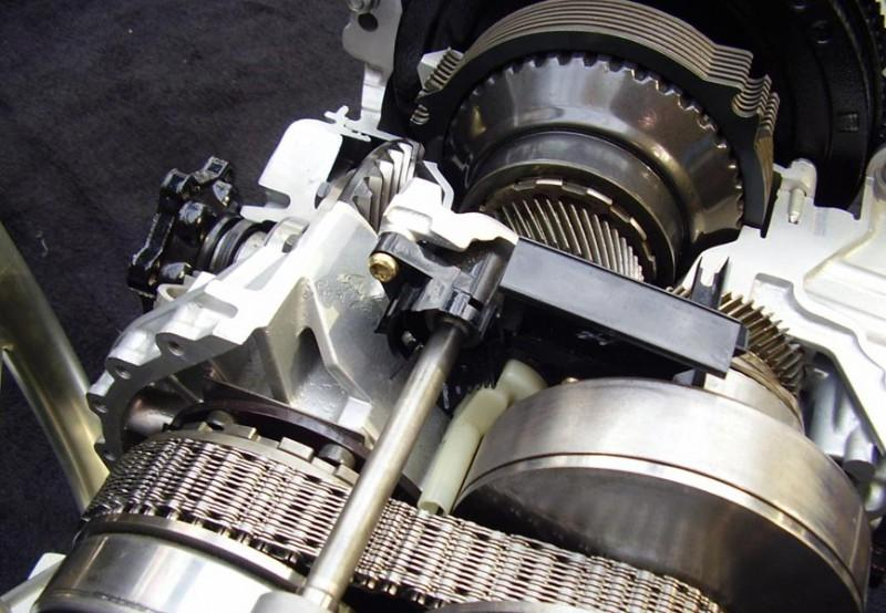 Вариаторная коробка передач автомобиля Ауди А4 и Ауди А6 в разрезе