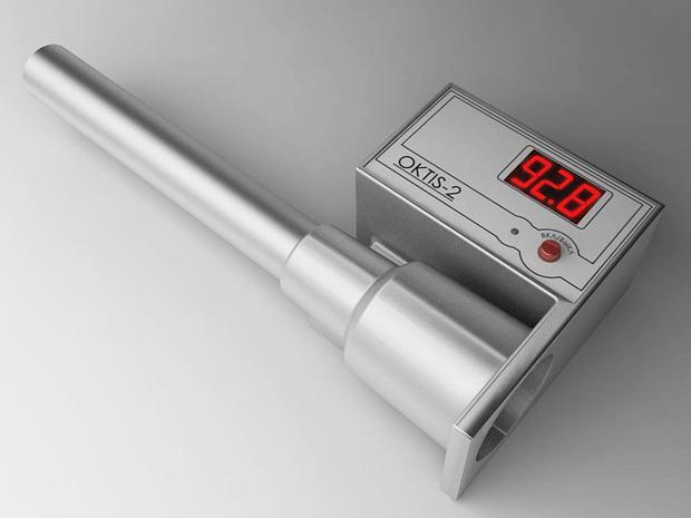 Электронный прибор для определения качества бензина