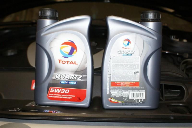 Моторная жидкость «Total quartz 5w30» в литровых канистрах