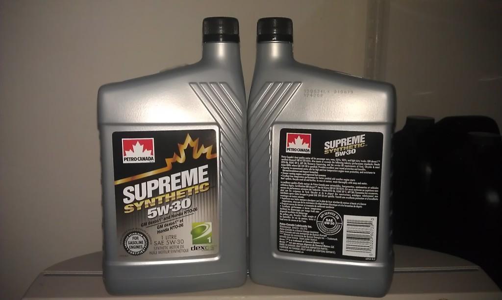 Моторное масло Petro-Canada 5W-30 в литровых канистрах