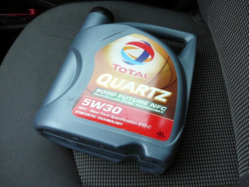 Моторная жидкость «Total quartz 5w30» в четырехлитровой канистре