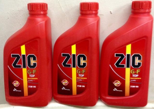 Трансмиссионное масло Zic 75w90