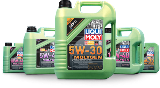 Моторная смазка Ликви Моли Молиген 5w40