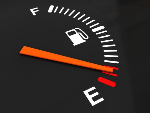 Низкое содержание топлива