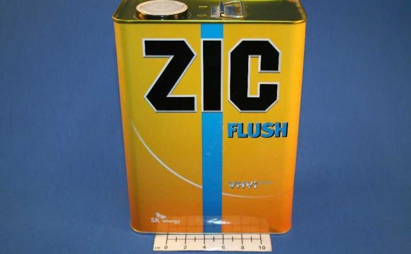 Промывочное масло «ZIC» в четырехлитровой канистре