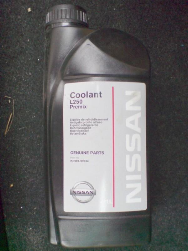 Оригинальная охлаждающая жидкость для Ниссан
