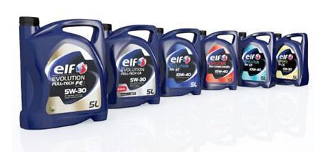 Линейка масел фирмы ELF