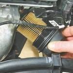 4. Замените масляный фильтр